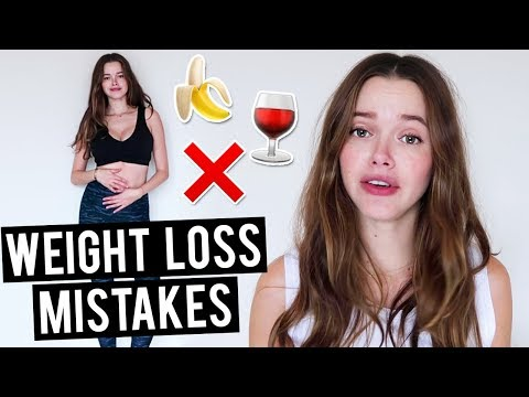 10 Weight Loss Mistakes (And How to Succeed)