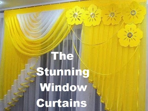 Window Curtains Design top 20 stunning window curtains - amazing curtain designs - youtube