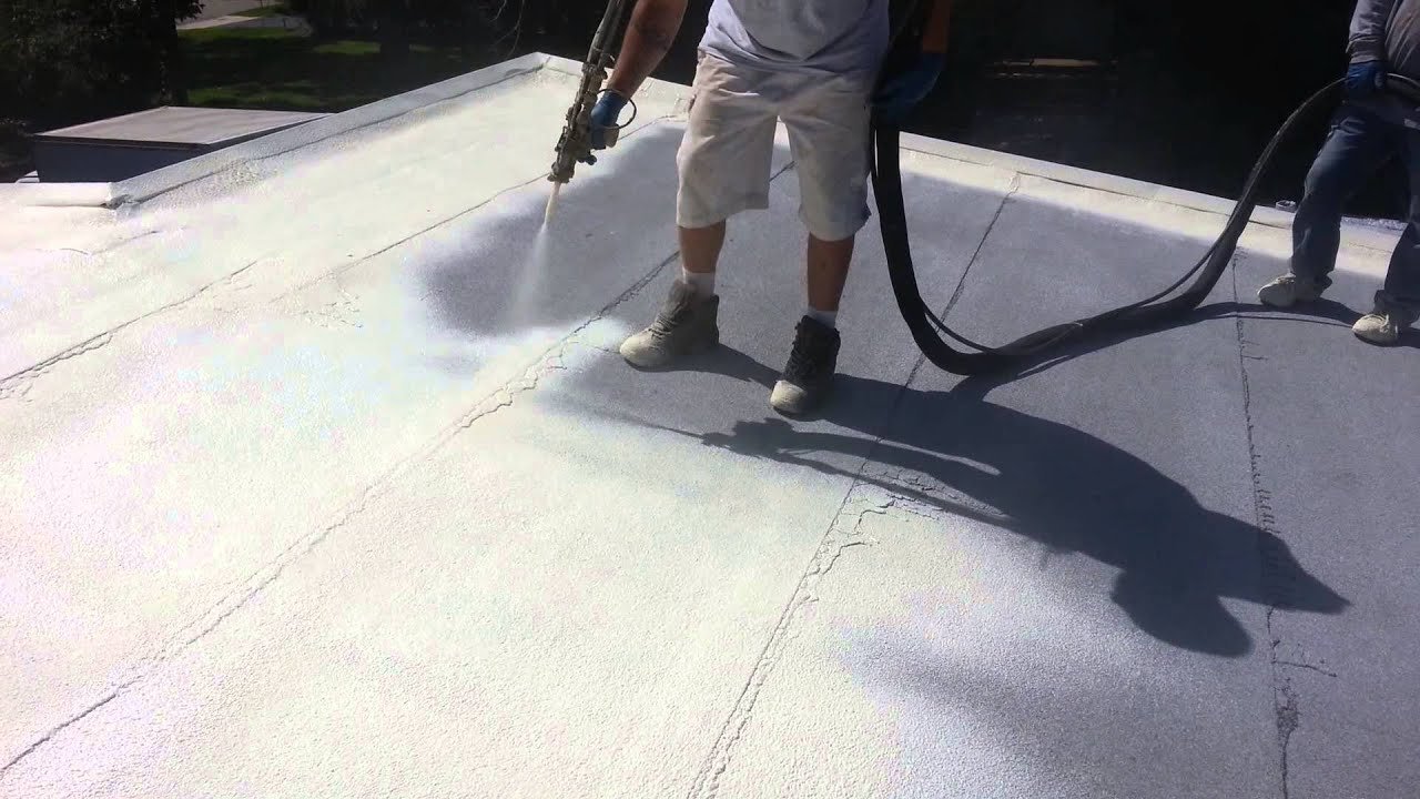 Roof Spray Foam Insulation And Sealant