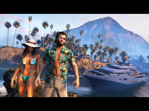 GTA 5 Real Life Mod #47 - TROPICAL ISLAND HONEYMOON!! (GTA 5 Mods)