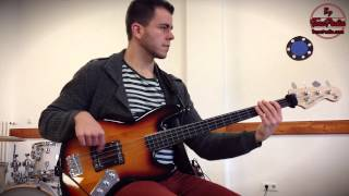 Fender Squier Vintage Modified (VM) Fretless Jazz Bass Demo