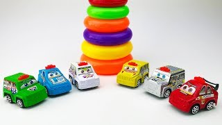Learn colors with toy cars Toys for children Colorful toy cars Video for children Songs for Children