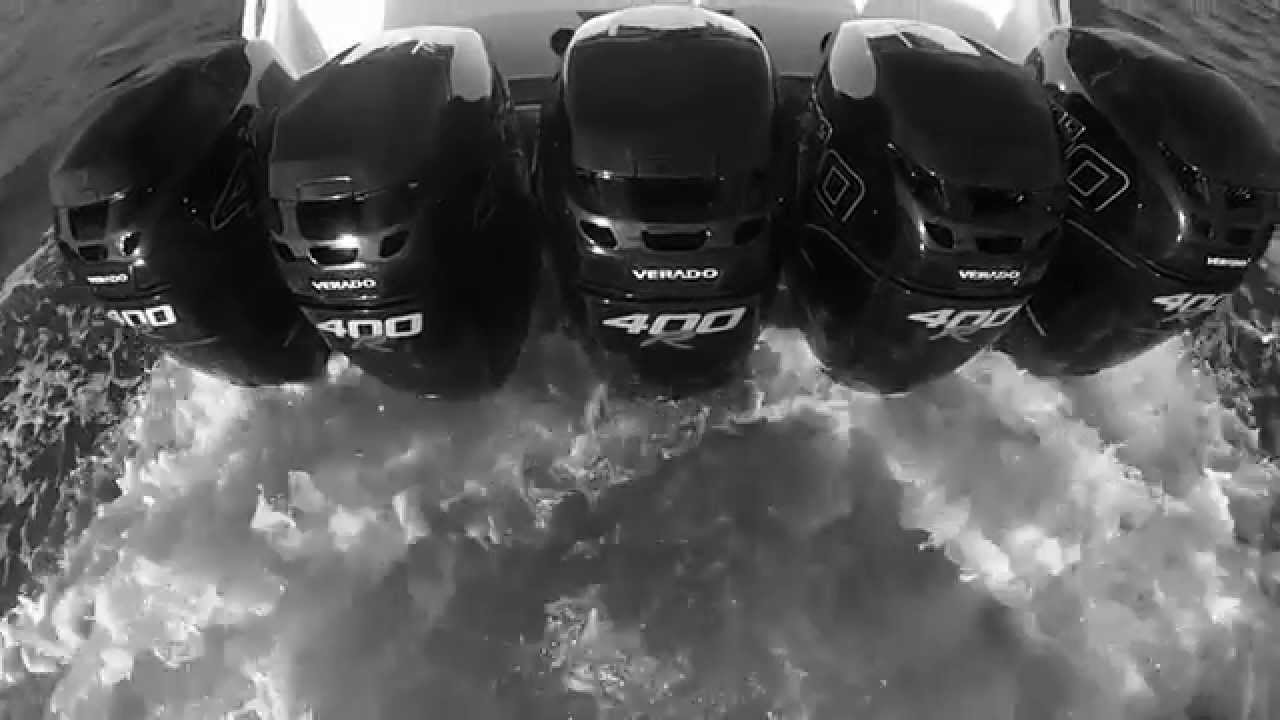 Mercury racing verado 400r outboard youtube for 400 hp boat motor price