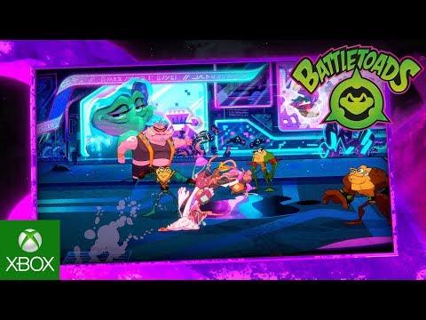 E3 2019: Показан новый трейлер Battletoads