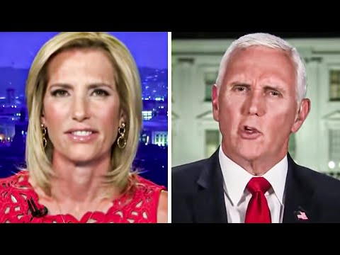 Laura Ingraham Giggles as Pence Reveals His Evil Plan