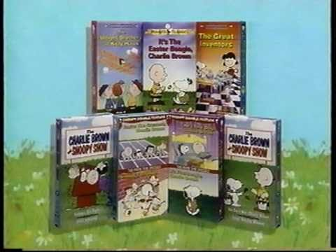 Peanuts Home Video promo - YouTube