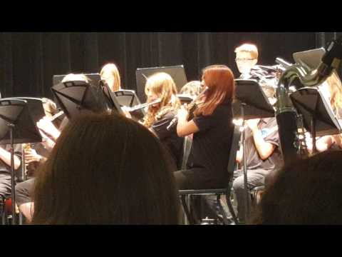 Creighton Middle School Concert Band,  5/11/2017