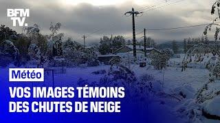Vos images témoins des fortes chutes de neige