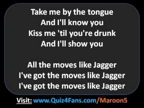 Moves Like Jagger Lyrics - Maroon 5 feat. Christina Aguilera