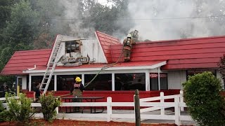 Fire at Jasper GA Dairy Queen