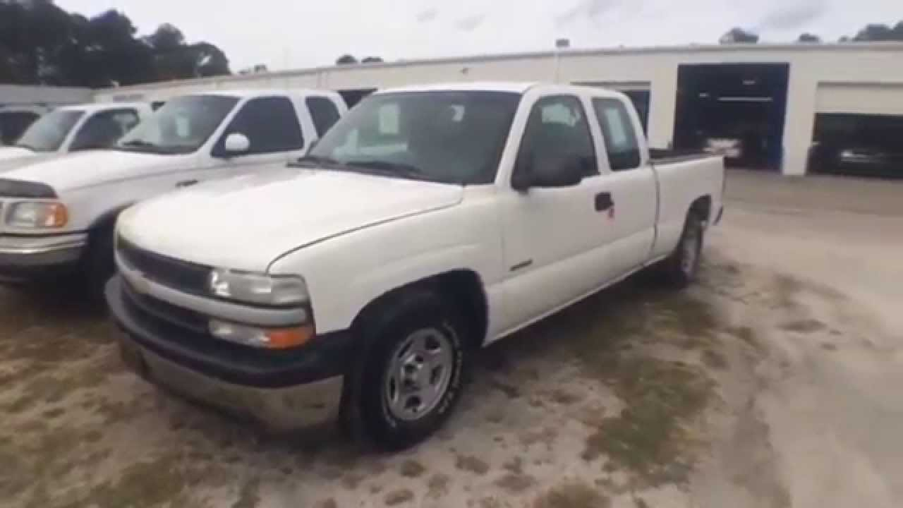 Pickup 2002 chevy pickup : 2002 Chevy Silverado 1500 - Work Truck 4.8L Under the Hood ...