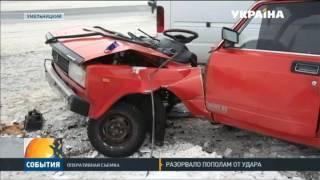 В Хмельницком в ДТП попала маршрутка