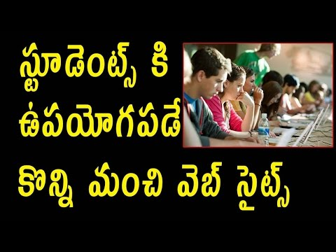 Best Websites To Take Online Course || Telugu Tech Tuts ||  Educational Websites | For Students |