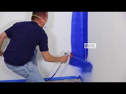 Graco Magnum Operation - How to Spray