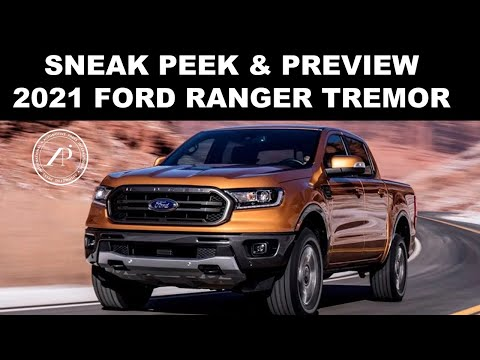 """2021 FORD RANGER TREMOR PREVIEW - Quick """"walk-around"""" of the Ranger Tremor by Engineer"""