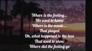 AIR SUPPLY - WHERE DID THE FEELING GO