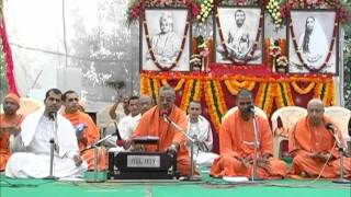 Ramakrishna Sharanam - Bhajan in Annual Spiritual Retreat 26 Jan 2012