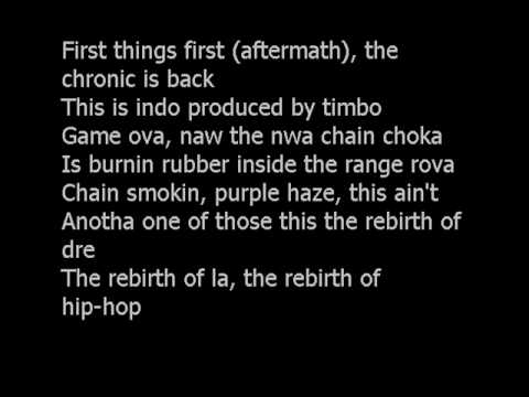 The Game - Put you on the game LYRICS/Readwatch!