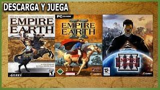 """Descarga y juega: """"Empire Earth (I,II y III)"""""""