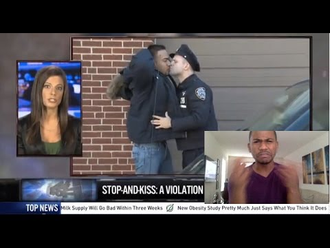 THE NEW STOP AND KISS POLICY NYPD - Mayor Bloomberg by The Onion REACTION