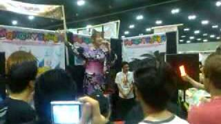 Saki Aibu sing at ax - Day 3
