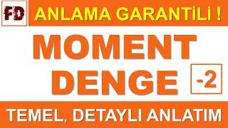 MOMENT VE DENGE KONU ANLATIMI 2 -  (ANLAMA GARANTİLİ )