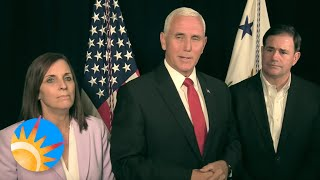 Pence Says he Met with Ukraine President on Corruption in His Country