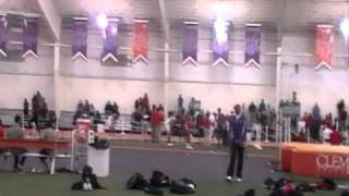 Clemson Tigers Men 4x4 relay 011511