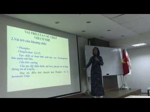 Tham luận của GS Kim Thanh về sản phẩm Vision