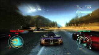 Need for Speed Undercover PC Gameplay - Pagani Zonda F vs. Bugatti Veyron | GeForce GTX 780