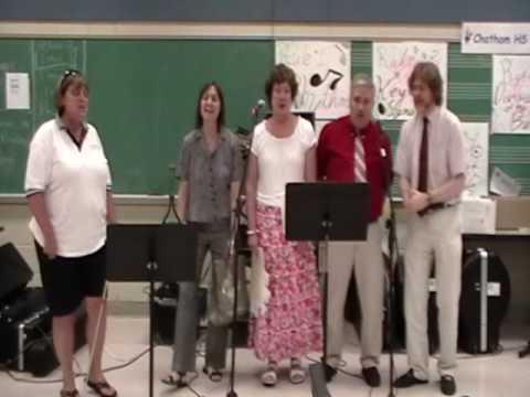 "Teachers Singing ""Teaching School Is Hard to do"" Chatham Middle School, NJ"