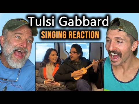 Montana Guys React To Tulsi Gabbard Singing (Politicians Singing)