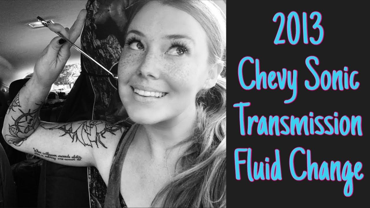chevy spark transmission fluid change