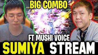 SUMIYA Invoker Very Hard Game with MUSHI | Sumiya Stream Moment #651