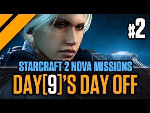 Day[9]'s Day Off - StarCraft 2 Nova Missions - P2