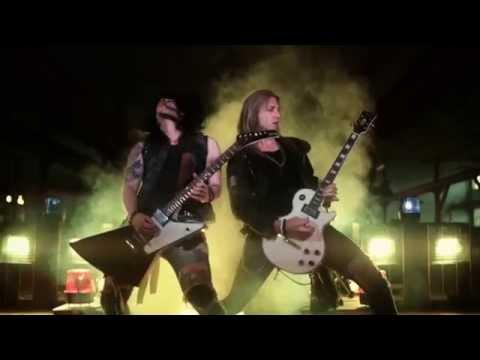 Crazy Lixx - Hell Raising Women (Official Music Video / New Studio Album / 2014)
