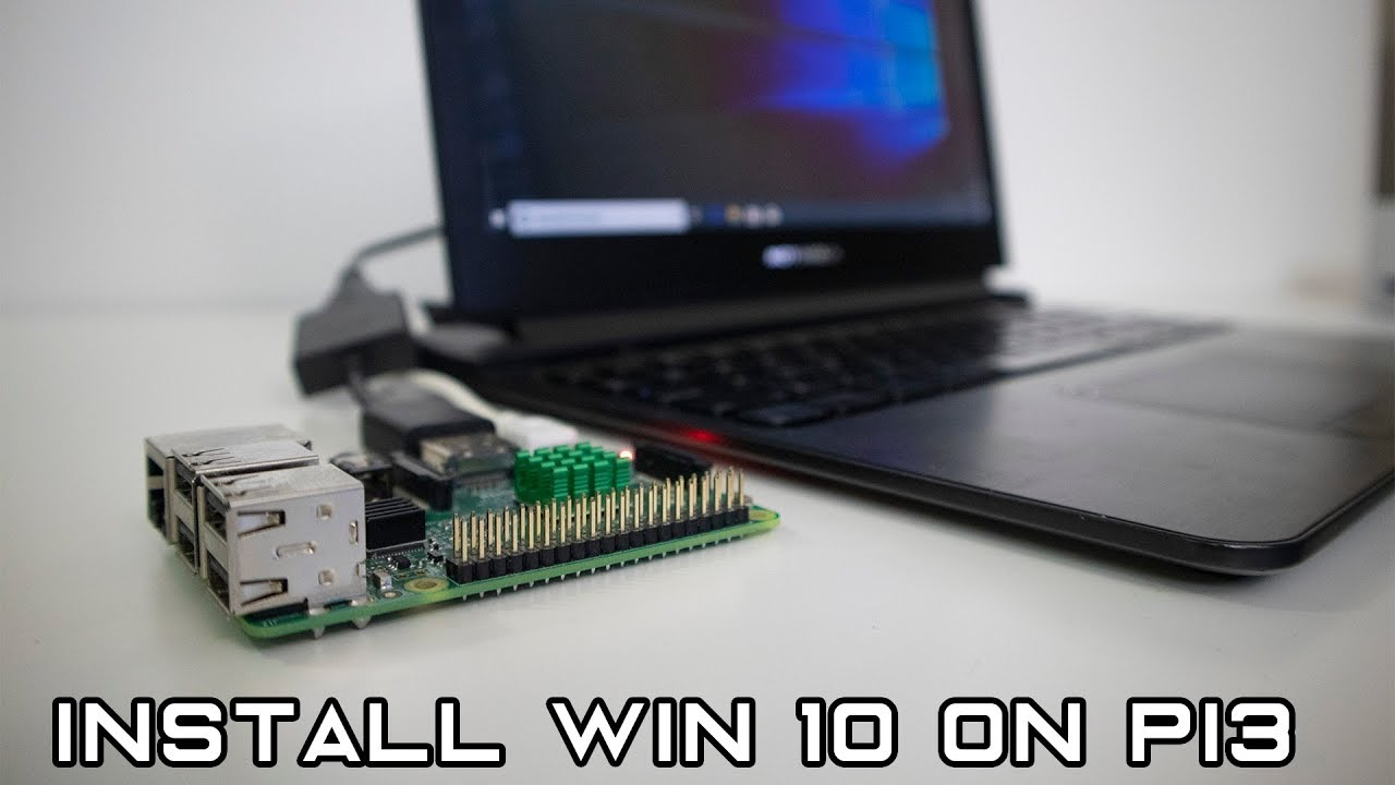WoA Installer lets you boot ARM64 Windows 10 on Raspberry Pi