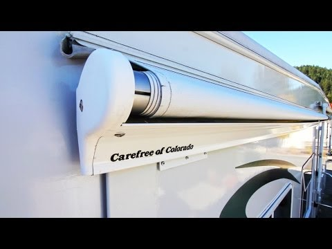 How To Replace A Carefree Of Colorado Rv Slide Topper
