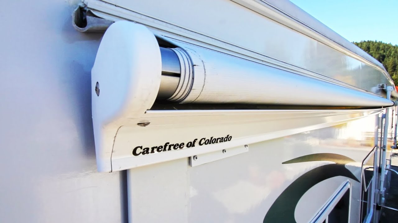 How To Replace A Carefree Of Colorado RV Slide Topper Model SOK II