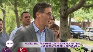 Fidesz: Brutális megszorításokkal van tele a Karácsony Gergely programja