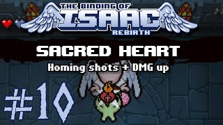 The Binding of Isaac: Rebirth - 10 - My Most Powerful Run Ever (Sacred Techno Judas) [60 FPS]
