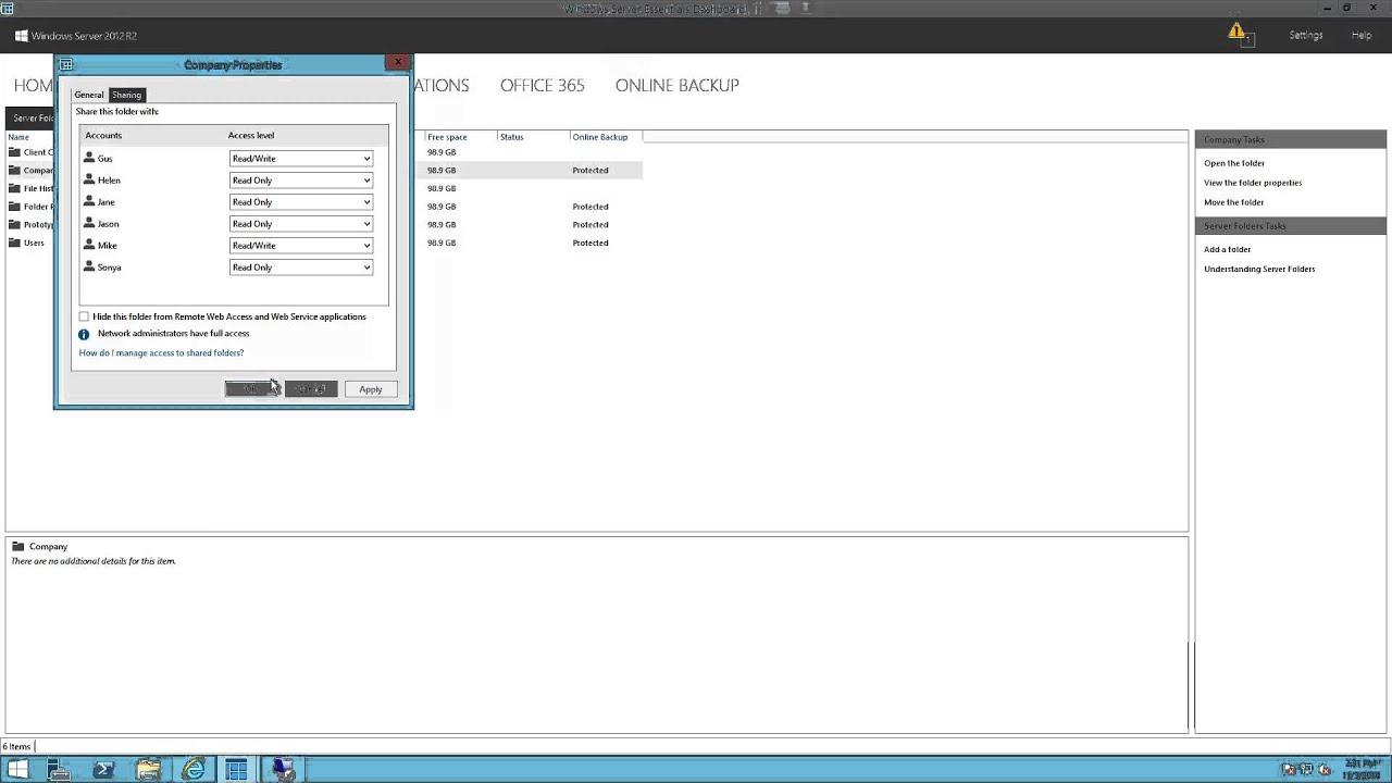 Windows Storage Server 2012 R2 Essentials