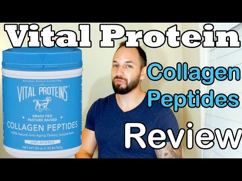 Vital Proteins Collagen Peptides Review (Grass Fed)