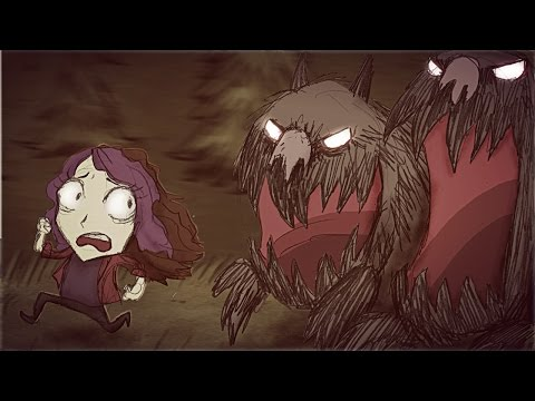 ONLY ADORABLE CUTE PUPPIES IN THIS VIDEO   Don't Starve Together