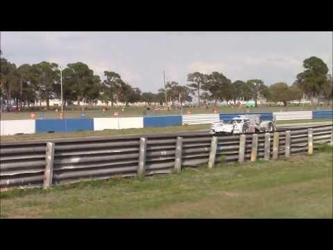 Porsche 919 and Audi R18 LMP1 Cars at Sebring