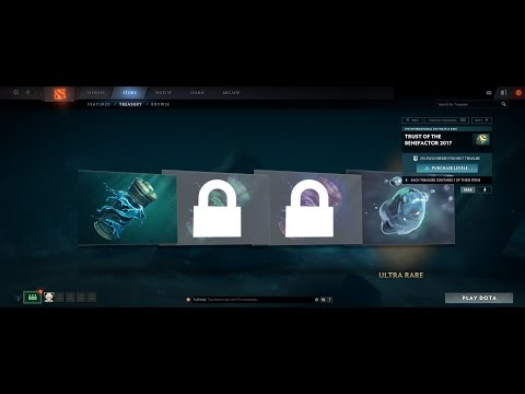 Scammed by Gaben (Live Stream) Trust of The Benefactor 2017 chest opening