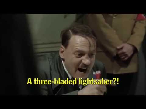 Hitler Reacts to Star Wars: The Force Awakens Trailer