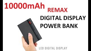 Remax Linon Pro 10000mAh Power Bank Unboxing and Quick Review | Powerbank in Pakistan