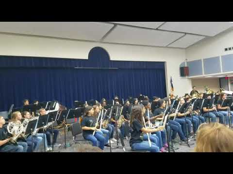 Labay Middle School Fall 2017 Concert by Symphonic Winds