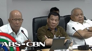 WATCH: President Duterte joins command conference on Typhoon Ompong | 13 September 2018